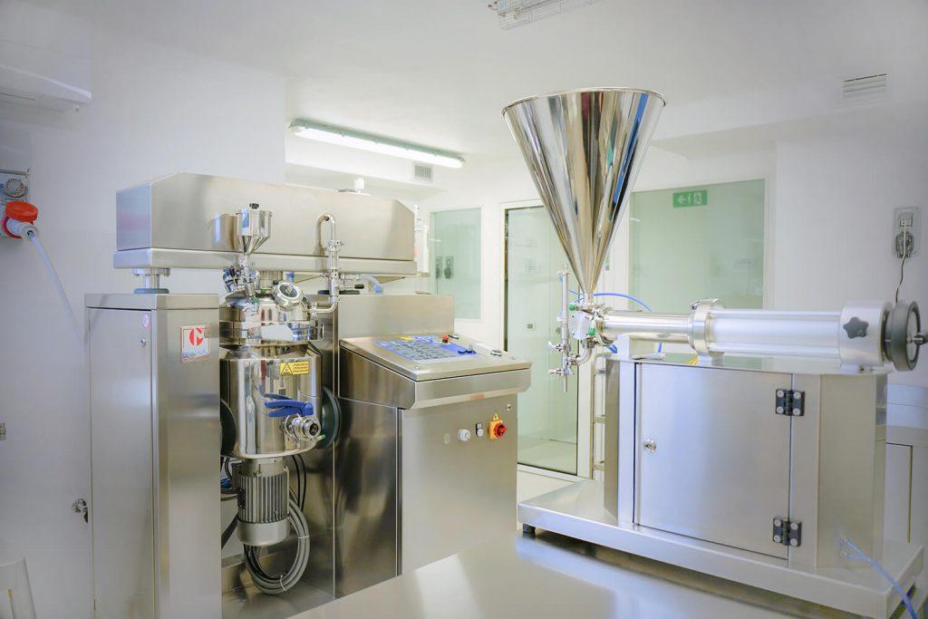 cosmetology laboratory
