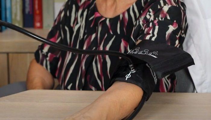 Posizione corretta del bracciale